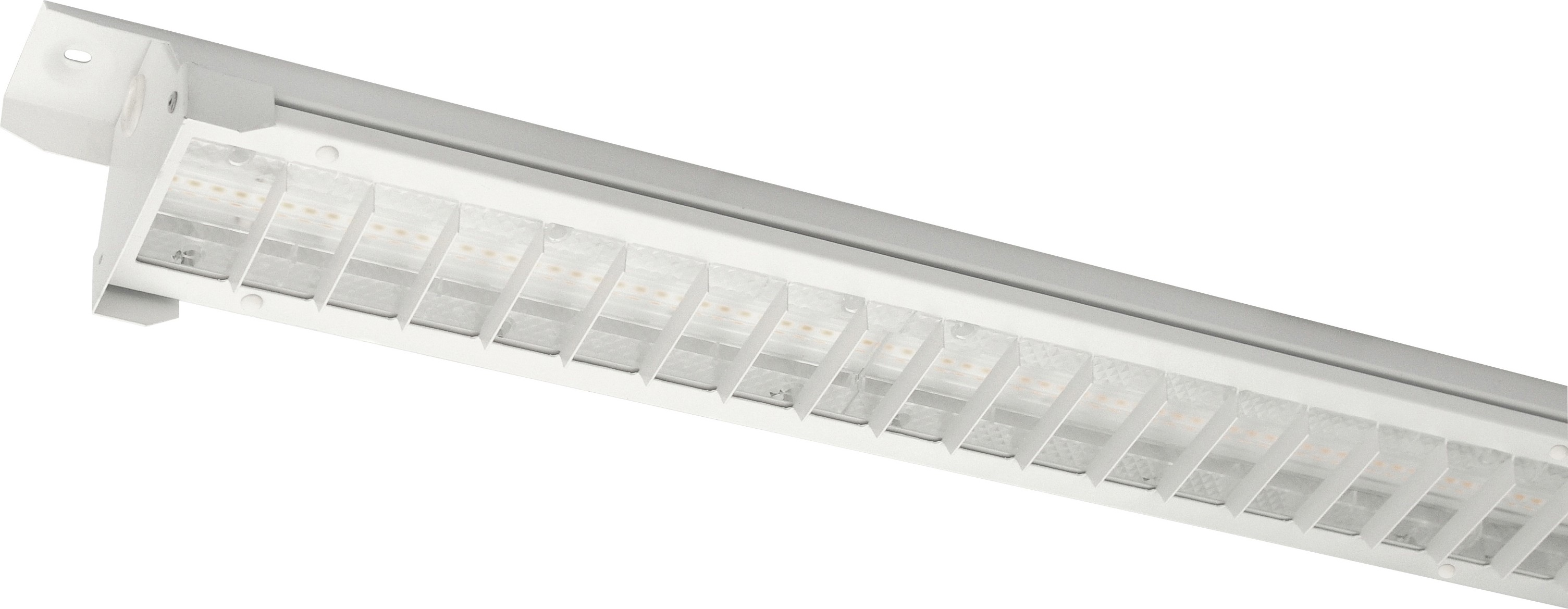 Continuous line and batten luminaires
